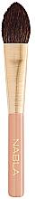Parfumuri și produse cosmetice Pensulă pentru fond de ten - Nabla Precision Powder Brush