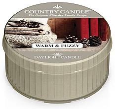 """Parfumuri și produse cosmetice Lumânare de ceai """"Warm & Fuzzy"""" - Country Candle Warm & Fuzzy Daylight"""