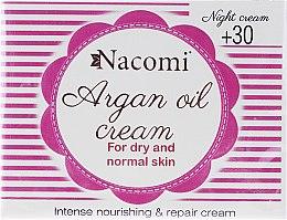 Parfumuri și produse cosmetice Cremă de noapte pentru față - Nacomi Moroccan Argan Night Cream
