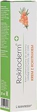 Parfumuri și produse cosmetice Cremă cu extract de cătină pentru îngrijirea pielii - Kosmed Rokitoderm