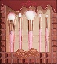 Parfumuri și produse cosmetice Set pensule pentru machiaj - I Heart Revolution Chocolate Brush Set