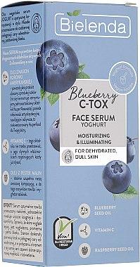 Ser-iaurt pentru ten deshidratat - Bielenda Blueberry C-Tox Face Yogurt Serum