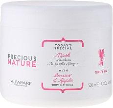 """Mască pentru păr uscat și deteriorat """"Fructe de padure și măr"""" - Alfaparf Precious Nature Mask for Thirsty Hair — Imagine N1"""