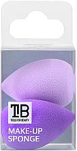 Parfumuri și produse cosmetice Burete de machiaj, 2 buc. - Tools For Beauty Mini Concealer Makeup Sponge Purple