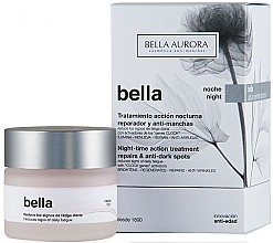 Parfumuri și produse cosmetice Cremă de noapte pentru față - Bella Night-Time Action Treatment Repairs & Anti-Dark Spots