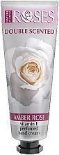 Parfumuri și produse cosmetice Cremă parfumată pentru mâini - Nature of Agiva Roses Amber Rose Perfumed Hand Cream