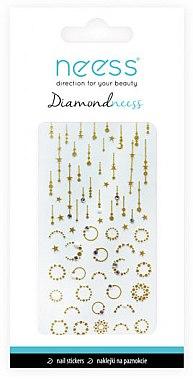 Nail Art Stickers, 3714 - Neess Diamondneess — Imagine N1
