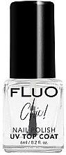 Parfumuri și produse cosmetice Lac de acoperire cu uscare rapidă pentru unghii - Constance Carroll Fluo Chic UV Top Coat