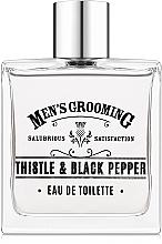 Parfumuri și produse cosmetice Scottish Fine Soaps Men's Grooming Thistle & Black Pepper - Apă de toaletă