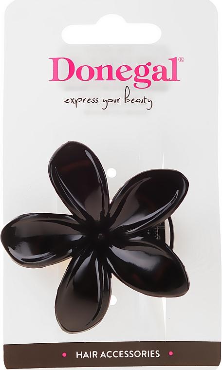 Clemă de păr, neagră, FA-5831 - Donegal