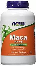 "Parfumuri și produse cosmetice Supliment alimentar ""Maca"", 500 mg - Now Foods Maca Veg Capsules"