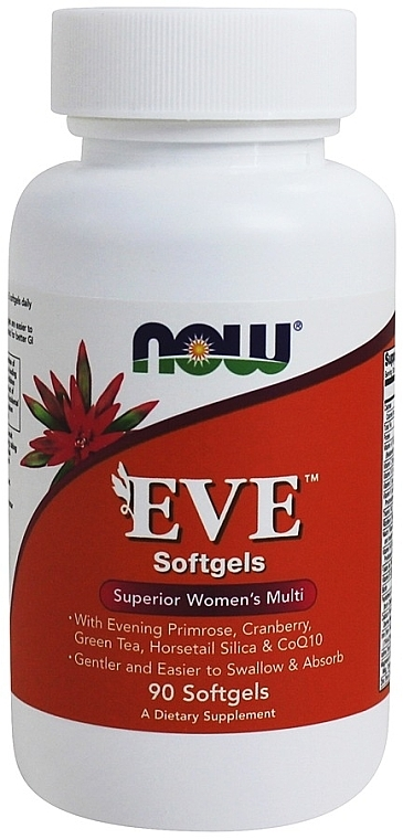 Capsule cu multivitamine, pentru femei - Now Foods Eve Womans Multi Softgels