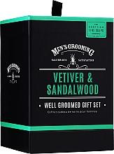 Parfumuri și produse cosmetice Scottish Fine Soaps Men's Grooming Vetiver & Sandalwood - Set (edt/50ml + sh/gel/75ml + ash/balm/75ml)