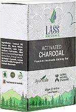 "Parfumuri și produse cosmetice Săpun natural ""Cărbune activ"" - Lass Naturals Soap"