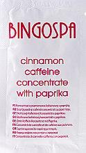 Духи, Парфюмерия, косметика Супер сильный концентрат корицы с кофеином, и перцем чили - BingoSpa Concentrate Cinnamon-Caffeine With Peppers (пробник)