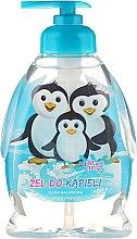 """Parfumuri și produse cosmetice Gel de duș pentru copii """"Familia de pinguini"""" - Chlapu Chlap Bath & Shower Gel"""