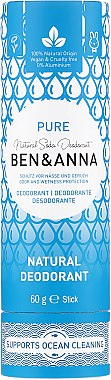 Deodorant (tub carton) - Ben & Anna Pure Natural Soda Deodorant Paper Tube — Imagine N1