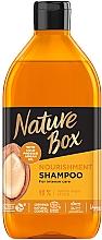 Parfumuri și produse cosmetice Șampon nutritiv cu ulei de argan - Nature Box Nourishment Vegan Shampoo With Cold Pressed Argan Oil