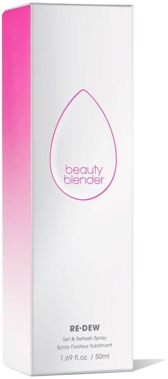 Spray fixator pentru machiaj - Beautyblender Re-Dew Set & Refresh Spray — Imagine N2