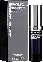 Parfumuri și produse cosmetice Ser regenerant pentru pleoape - Germaine de Capuccini Timexpert SRNS Repair Night Progress Eye