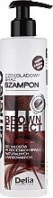 Parfumuri și produse cosmetice Șampon pentru păr brunet - Delia Cameleo Brown Effect Shampoo