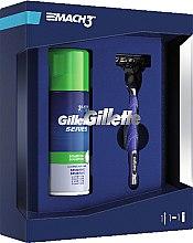 Parfumuri și produse cosmetice Set - Gillette Mach3 Start (razor/1pc + sh/foam/100ml)