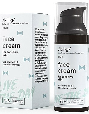 Cremă de față - Kili·g Man Day Cream — Imagine N1