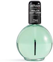 Parfumuri și produse cosmetice Ароматическое масло для кутикулы с кисточкой «Melon Light Green» - Lila Rossa Cuticle Oil