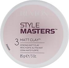 Parfumuri și produse cosmetice Argilă pentru păr - Revlon Professional Style Masters Matt Clay