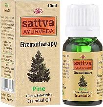 """Parfumuri și produse cosmetice Ulei esențial """"Pin"""" - Sattva Ayurveda Pine Essential Oil"""