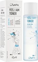 Parfumuri și produse cosmetice Toner pentru față - HelloSkin Jumiso Yes I Am Toner AHA 5%