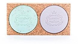 Parfumuri și produse cosmetice Set - Essencias de Portugal Aromas Collection (soap/2x50g)