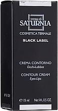 Parfumuri și produse cosmetice Cremă pentru buze și zona ochilor - Terme Di Saturnia Black Label Contour Cream Eyes And Lips