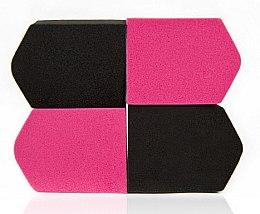 Parfumuri și produse cosmetice Burete pentru machiaj, multicolor, 4 buc. 4307 - Donegal Blending Sponge