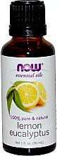 Parfumuri și produse cosmetice Ulei esențial de lămâie, eucalipt - Now Foods Essential Oils 100% Pure Lemon Eucalyptus