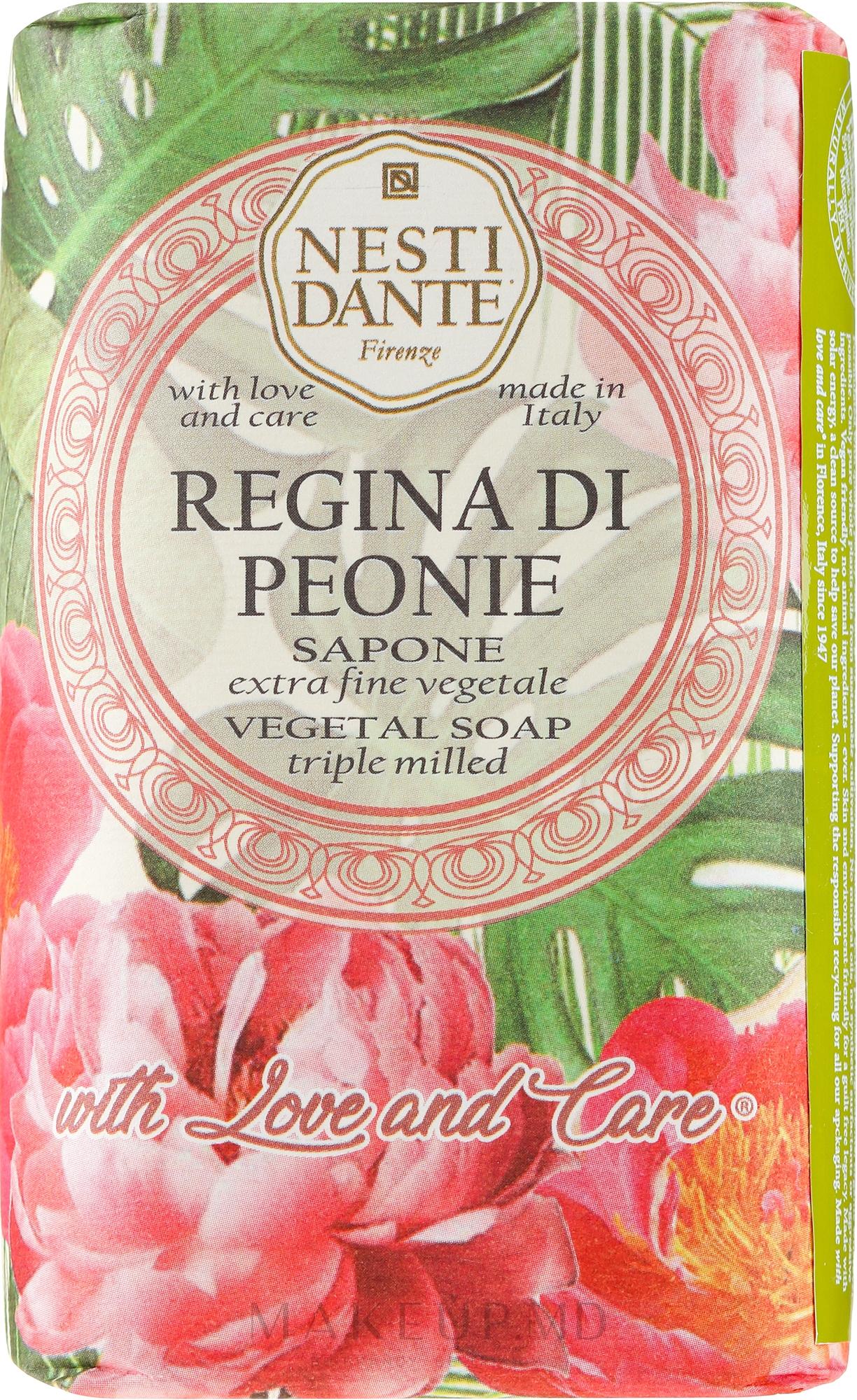 "Săpun ""Bujor regal"" - Nesti Dante — Imagine 250 g"