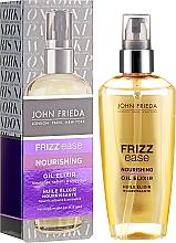 "Parfumuri și produse cosmetice Ulei de păr ""Elixir nutritiv"" - John Frieda Frizz Ease Nourishing Oil Elixir"
