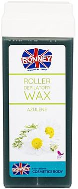 """Ceară pentru depilare în cartuș """"Azulen"""" - Ronney Wax Cartridge Azulene"""