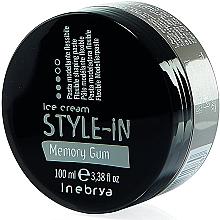 Parfumuri și produse cosmetice Pastă Memory Gum pentru modelarea părului - Inebrya Style-In Memory Gum Paste