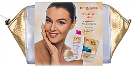 Parfumuri și produse cosmetice Set - Dermacol 3D Hyaluron Therapy (f/cream/50ml + f/mask/16ml + micel/water/200ml + bag)