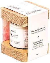 Parfumuri și produse cosmetice Set - MiaCalnea Regenerating Hand Cream + 2X OAKIS (cr/120ml+acc)