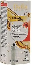 Parfumuri și produse cosmetice Gel pentru pleoape - Delia Argan Care Under Eye Roll-On Wrinkles Smoother