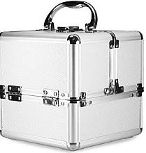 Parfumuri și produse cosmetice Geantă argintie pentru cosmetice - NeoNail Professional