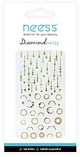 Parfumuri și produse cosmetice Nail Art Stickers, 3714 - Neess Diamondneess