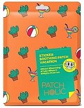 Parfumuri și produse cosmetice Patch-uri cu extract de cactus pentru față și corp - Patch Holic Sticker Soothing Patch Vacation