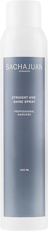 Spray pentru păr - Sachajuan Stockholm Straight And Shine Spray — Imagine N1