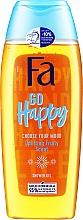 """Parfumuri și produse cosmetice Gel de duș """"Creați-vă propria dispoziție"""" cu aromă fructată - Fa Go Happy Shower Gel"""
