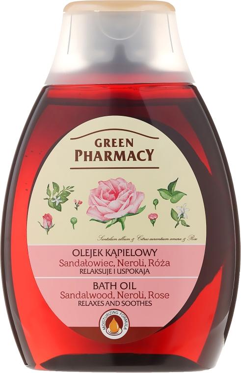 "Ulei pentru baie și duș ""Neroli Rose"" - Green Pharmacy"