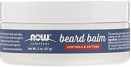 Parfumuri și produse cosmetice Balsam pentru barbă - Now Foods Controls & Softens Beard Balm