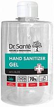 Parfumuri și produse cosmetice Gel antibacterian cu aloe pentru mâini - Dr. Sante Antibacterial Hand Sanitizer Gel With Aloe